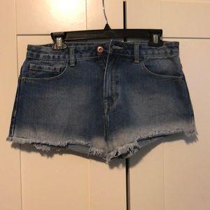 Forever 21 denim shorts. Ombré. Brand new.